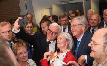Frank-Walter Steinmeier 2018 in Dortmund. Der Bundespräsident eröffnet auch den Deutschen Seniorentag 2021.